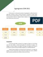 Organigrama CEIN 2011