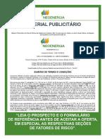 Neoenergia - Material Publicitário (Term Sheet) (Versão Final - 22.5.2019)