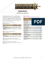Age of Sigmar Skirmish Errata