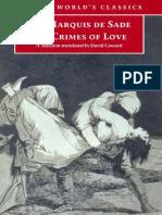 De Sade, Marquis - Crimes of Love (0, Oxford World's Classics).pdf