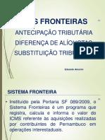 Fronteiras 2019 - Difal, Antecipação e ST - 26-02-19