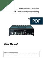 User Manual - Modulador ISDB-T DC3522B