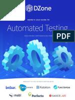 11964573 Dzone Researchguide Automatedtesting