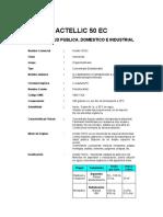 Actellic 50 Ec Ft Msds
