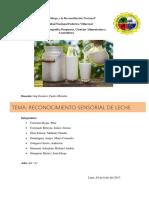 Analisis Sensorial de La Leche -Practica Castro