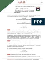 Lei Complementar 102 2003 Cuiaba MT