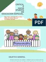 Pedagogia Critica, Discapacidad e Inclusion