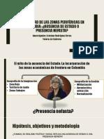La Realidad de Las Zonas Periféricas en Colombia