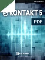 Kontakt 5 Application Reference German