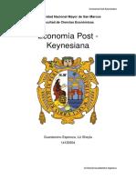 Trabajo Economia Postkeynesiana Final