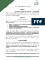 REGLAMENTO INTERNO DE TRABAJO ULISES SAUNA Y TURCOS S.A.S..docx
