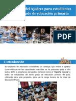 Aprendizaje Del Ajedrez Para Estudiantes de Primaria