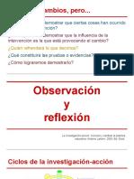 Observación y reflexión en la investigación cualitativa