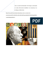 Cohen, Pablo - Borges, Inédito. Buenos Aires Es Un Barrio de Montevideo