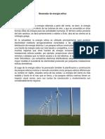 Generador de Energía Eólica