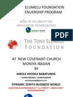 The Tony Elumelu Foundation Entreprenuership Program-1