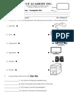 VCCFA INC. PK Quiz.docx