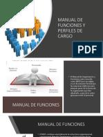 Manual de Funciones y Perfiles de Cargo