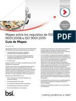 ISO 9001 Mapping Guide
