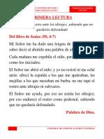 Domingo de Ramos en La Pasión Del Señor - Ciclo B
