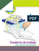Cuaderno de Trabajo JRV, Consulta Popular 2018, TSE Guatemala