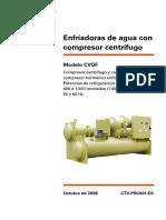 Chiller Trane Cvgf Catálogo (Español)