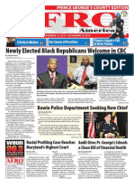 Prince George's County Afro-American Newspaper, November 13, 2010