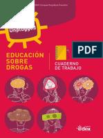Educación sobre drogas. Cuaderno del alumno.