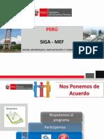 Implementación SIGA-MEF