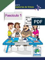 Instructivo JRV, Elecciones Generales 2019, TSE Guatemala -Completo-