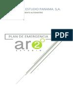 Plan de Emergencia y Evacuacion. Arquitec2