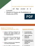 Semana 2 Modelos Económicos Flujo Circular y FPP