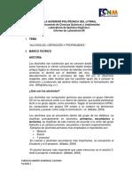 Informe #8 Lab Organica Espol