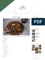 Pastel de Cochayuyo – Polin en La Cocina