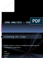 Song Analysis - Year 2