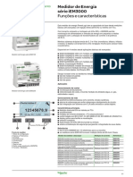 Manual Medidor IEM3000 - Datasheet Técnico