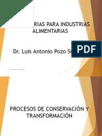 1. Procesos de Concervacion y Transformacion Alimentos
