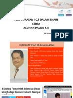 1. Dr Sutoto - Peran i.c.t Dalam Snars Serta Asuhan Pasien 4.0