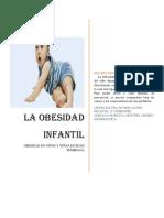Documento Word Obesidad Infantil