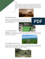 Sitio Arqueológico de guatemala