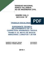 Diseno Vial II Practica 01 BARRETO