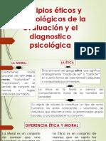 Principios Éticos y Deontológicos de La Evaluación Psicológica