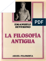 Severino, Emanuele. - La Filosofía Antigua [1986]