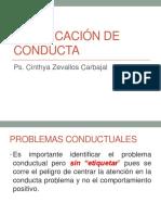 CLASE 5 MODIFICACIÓN DE CONDUCTA.ppt