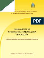 componente de informacion comunicacion y educacion