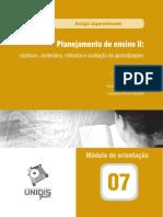 ES_Módulo 7 (Planejamento de Ensino II)
