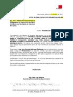 18082018 Oficio de Presentacion de Profesionistas - Sustitucion