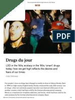 Drogas y sociedad