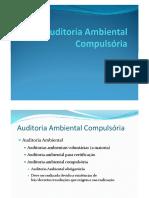 Auditoria Ambiental Compulsória