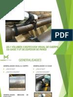 5-Ds1 Inspeccion de Cuerpo, Od Gage y Ut Espesor de Pared